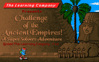 Pantallazo de Super Solvers: Ancient Empires (a.k.a. Challenge of The Ancient Empires) para PC