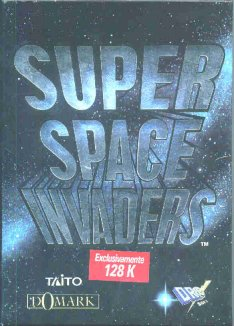 Caratula de Super Space Invaders para Spectrum