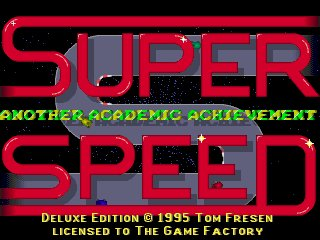 Pantallazo de Super Speed para PC