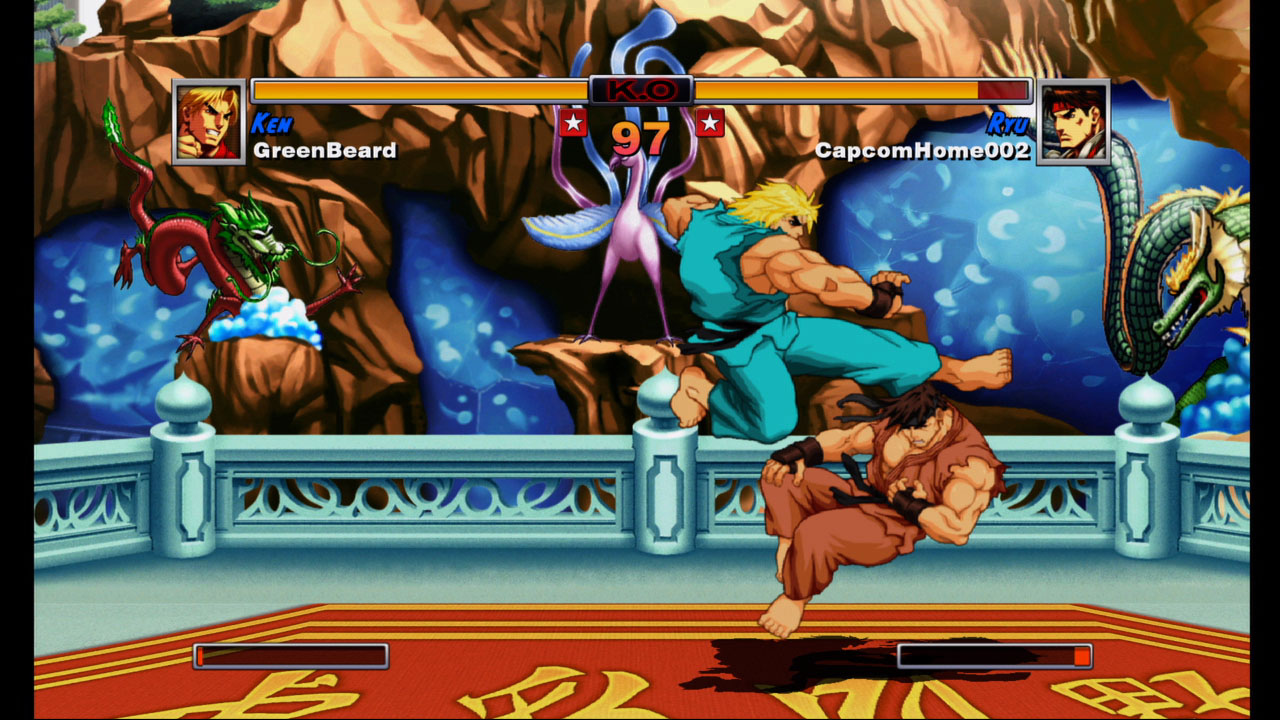 Pantallazo de Super Street Fighter II Turbo HD Remix (Xbox Live Arcade) para Xbox 360
