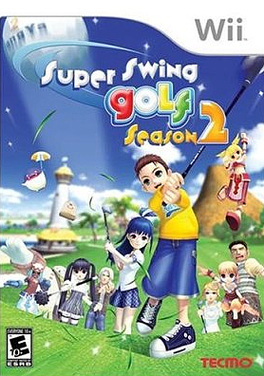 Caratula de Super Swing Golf Season 2 para Wii