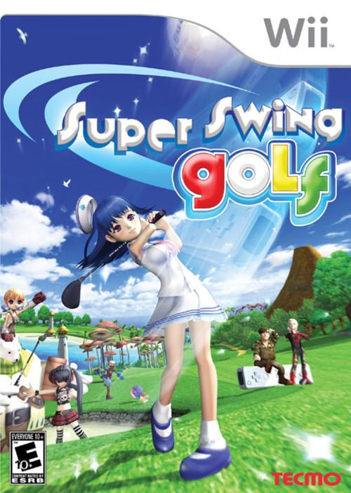 Caratula de Super Swing Golf para Wii