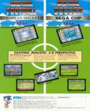 Carátula de Super Visual Football: European Sega Cup