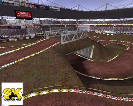 Pantallazo de SuperCross Kings para PC