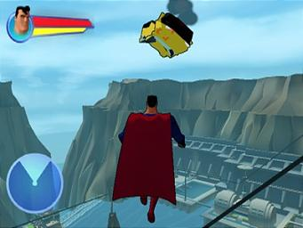 Pantallazo de Superman: Shadow of Apokolips para GameCube