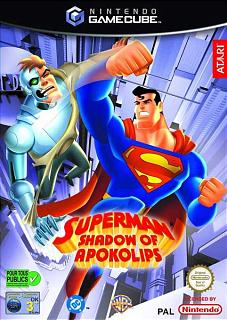 Caratula de Superman: Shadow of Apokolips para GameCube