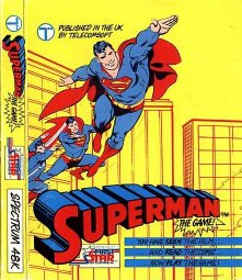 Caratula de Superman: The Game para Spectrum