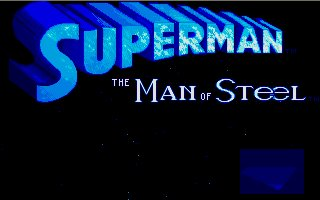 Pantallazo de Superman: The Man of Steel para Atari ST