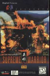 Caratula de Supreme Warrior para PC