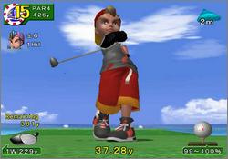 Pantallazo de Swingerz Golf para GameCube
