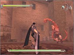Pantallazo de Sword of the Berserk: Guts' Rage para Dreamcast