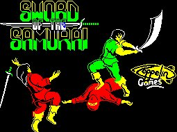 Pantallazo de Sword of the Samurai para Spectrum