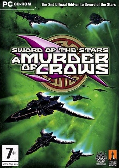 Caratula de Sword of the Stars: A Murder of Crows para PC