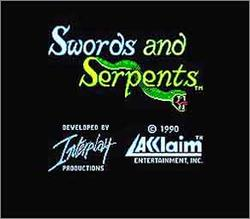 Pantallazo de Swords and Serpents para Nintendo (NES)