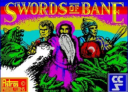 Pantallazo de Swords of Bane para Spectrum