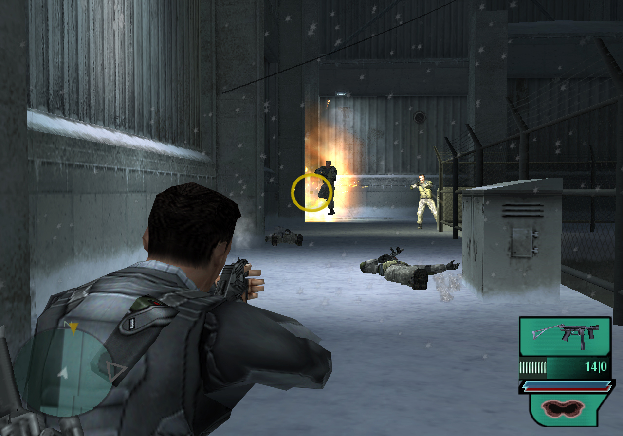 Pantallazo de Syphon Filter: Dark Mirror para PlayStation 2
