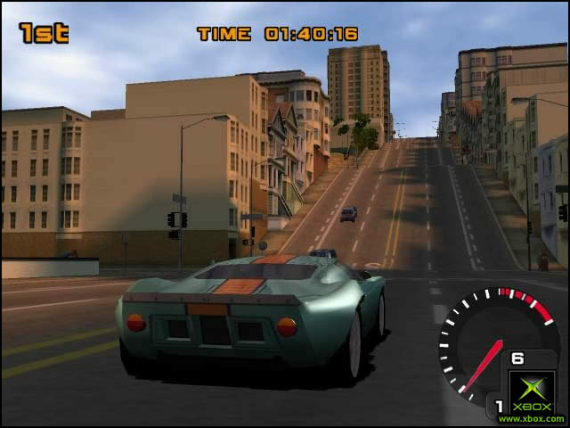 Pantallazo de TD Overdrive: The Brotherhood of Speed para Xbox