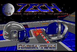 Pantallazo de TECH: The Race Against the Targanoids para Atari ST