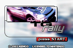 Pantallazo de TG Rally para Game Boy Advance