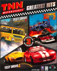 Caratula de TNN Motorsports Greatest Hits para PC