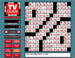 Pantallazo de TV Guide Crosswords and Trivia para PC