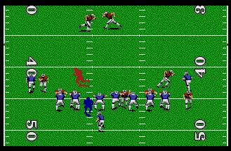 Pantallazo de TV Sports: Football para Atari ST