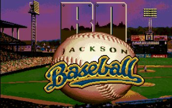 Pantallazo de TV Sports Baseball para Amiga