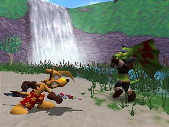 Pantallazo de TY the Tasmanian Tiger para GameCube
