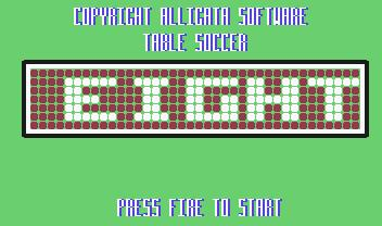 Pantallazo de Table Soccer para Commodore 64