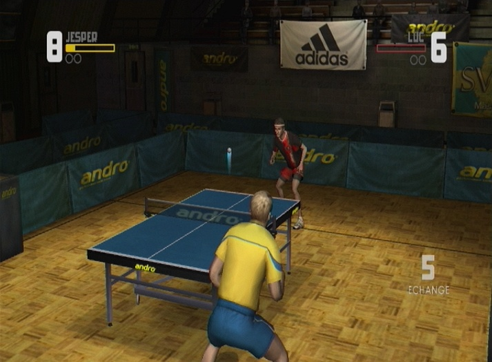 Pantallazo de Table Tennis para Wii