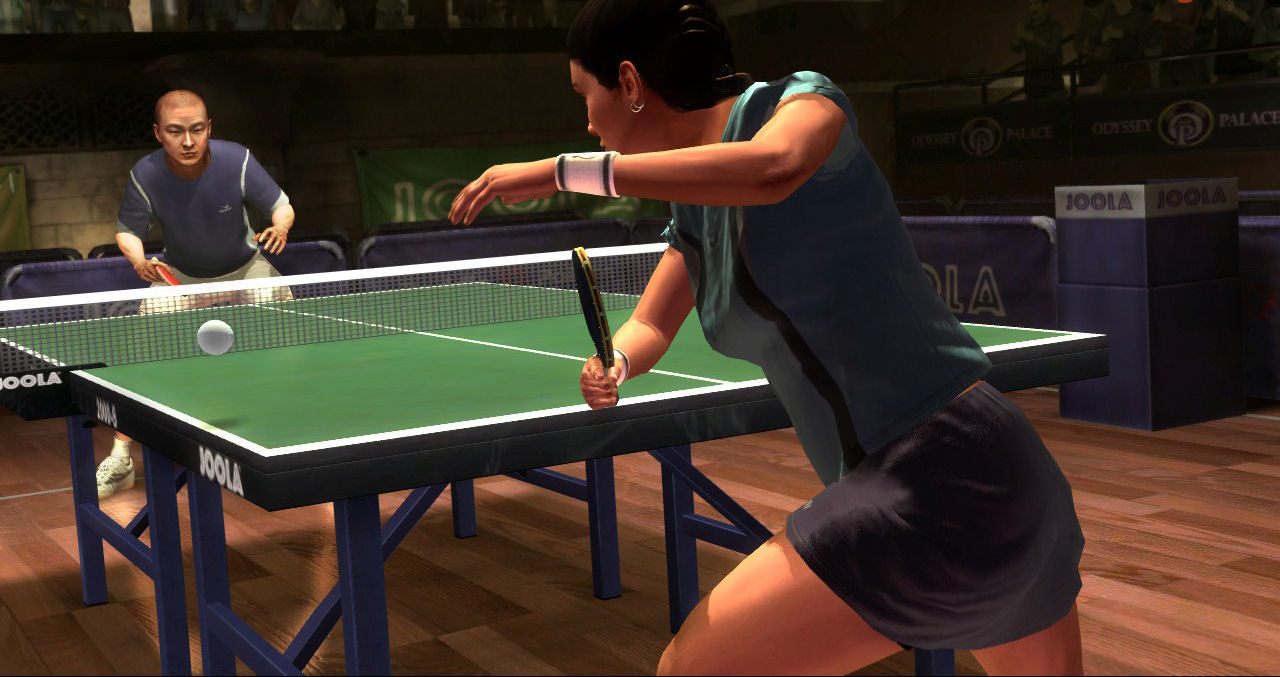 Pantallazo de Table Tennis para Xbox 360
