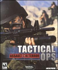 Caratula de Tactical Ops: Assault on Terror para PC