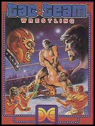 Caratula de Tag Team Wrestling para Commodore 64