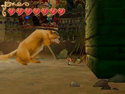 Pantallazo de Tale of Despereaux, The para Nintendo DS