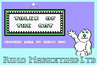 Pantallazo de Tales of the Cat para Commodore 64