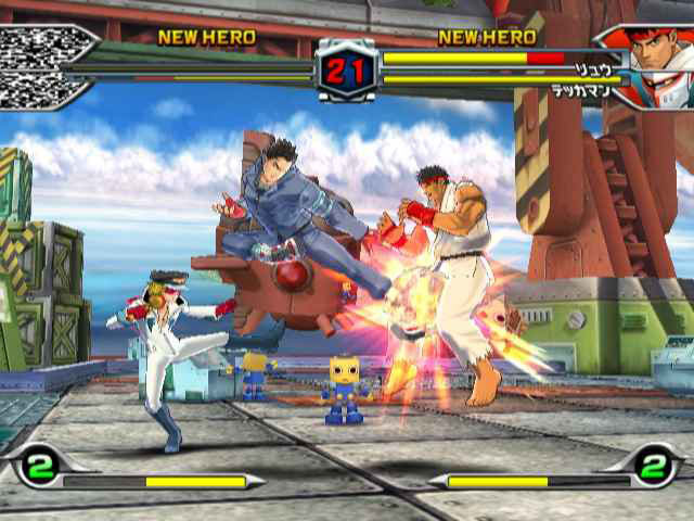 Pantallazo de Tatsunoko vs. Capcom: Ultimate All-Stars para Wii