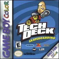 Caratula de Tech Deck Skateboarding para Game Boy Color