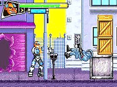 Pantallazo de Teen Titans 2 para Game Boy Advance
