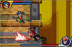Pantallazo de Teen Titans para Game Boy Advance