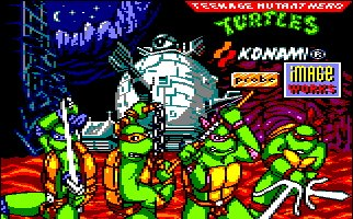 Pantallazo de Teenage Mutant Hero Turtles 2: Coin Up para Amstrad CPC