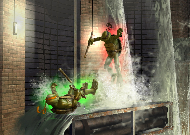 Pantallazo de Teenage Mutant Ninja Turtles: Smash Up para Wii