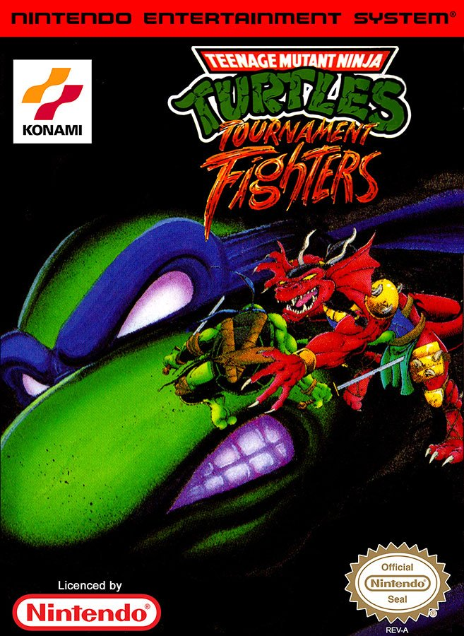 Caratula de Teenage Mutant Ninja Turtles: Tournament Fighters para Nintendo (NES)
