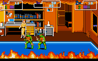 Pantallazo de Teenage Mutant Ninja Turtles 2: The Arcade Game para PC