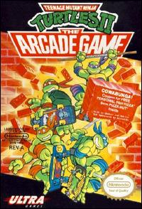 Caratula de Teenage Mutant Ninja Turtles II: The Arcade Game para Nintendo (NES)