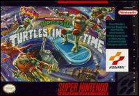 Caratula de Teenage Mutant Ninja Turtles IV: Turtles in Time para Super Nintendo