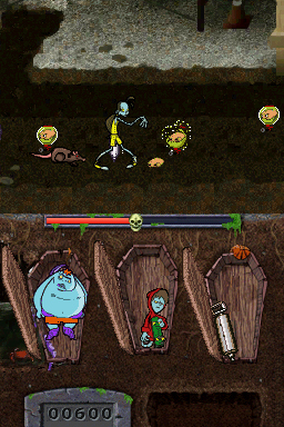 Pantallazo de Teenage Zombies: Invasion of the Alien Brain Thingys! para Nintendo DS
