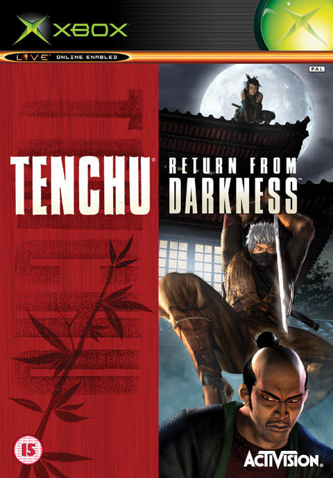 Caratula de Tenchu: Return From Darkness para Xbox