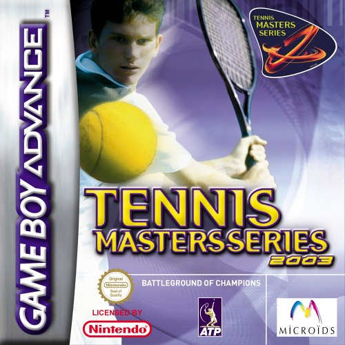 Caratula de Tennis Masters Series 2003 para Game Boy Advance