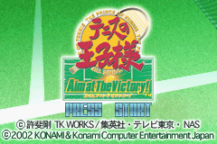 Pantallazo de Tennis no Ouji-sama - Aim at The Victory (Japonés) para Game Boy Advance