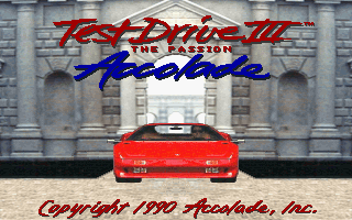 Pantallazo de Test Drive III: The Passion para PC